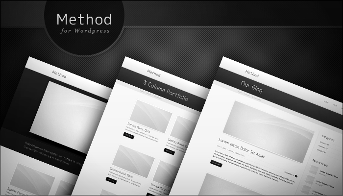 Method Wordpress Theme